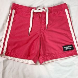 🐢3/$20 Abercrombie and Fitch Pink Swim Trunks